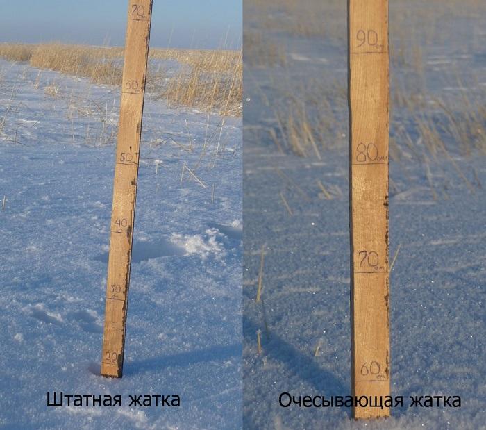 Высота снежного покрова